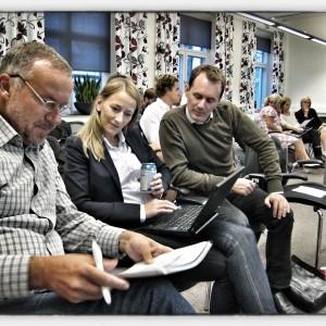 Många trotsade vädret för att lära sig systemtänkande och projektdynamik